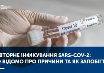 ПОВТОРНЕ ІНФІКУВАННЯ SARS-COV-2: ЩО ВІДОМО ПРО ПРИЧИНИ ТА ЯК ЗАПОБІГТИ